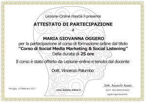 Social Media Marketing & Social Listening
