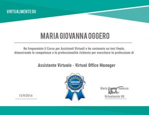 Assistenti Virtuali – Virtual Office Manager