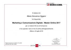 Master Online in Marketing e Comunicazione Digitale